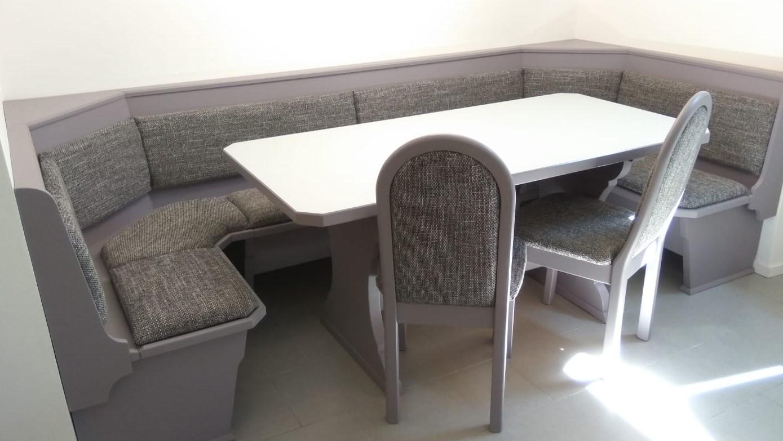 panca e tavolo su misura